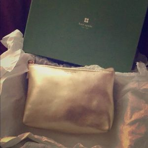 New Vintage Kate Spade leather clutch